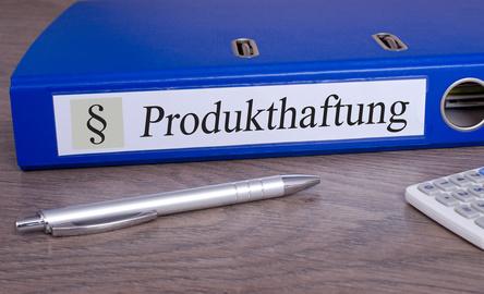 Produkthaftung Ordner im Büro - Produkthaftungsrecht bei Schaden und Unfall